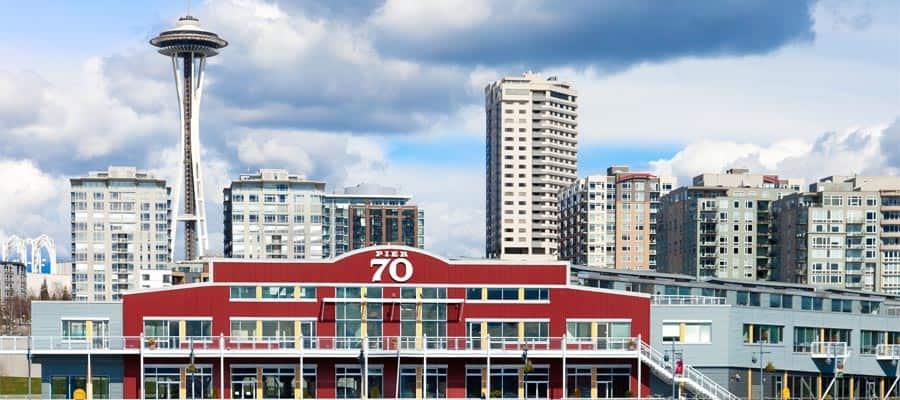 El muelle 70 durante tu crucero por Seattle