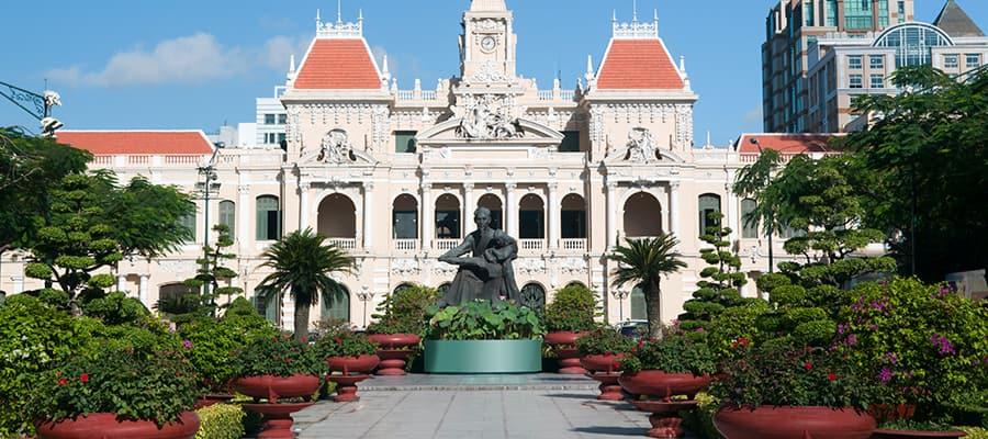 Sede del Comité del Pueblo en los cruceros a Phu My (Ciudad Ho Chi Minh)