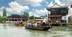Pueblo del agua de Zhujiajiao