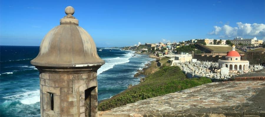 Castillo San Felipe del Morro en San Juan