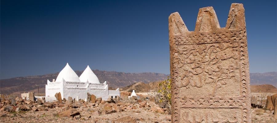Visita la tumba del profeta Bin Ali en Salalah