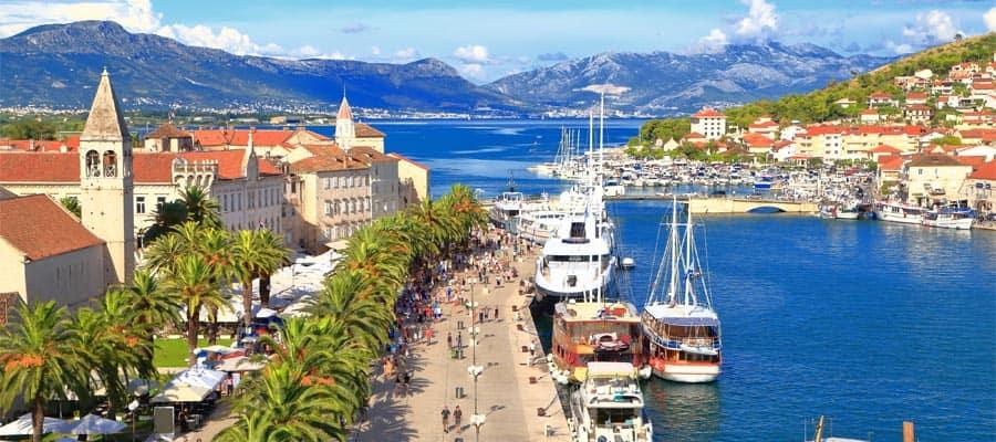 Viaja en un crucero por Europa y visita Split, Croacia