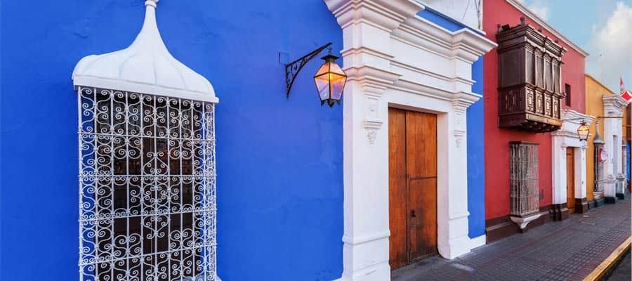 Casas tradicionales en Trujillo
