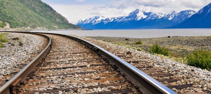 Ningún crucero por Alaska está completo sin un viaje en el ferrocarril panorámico