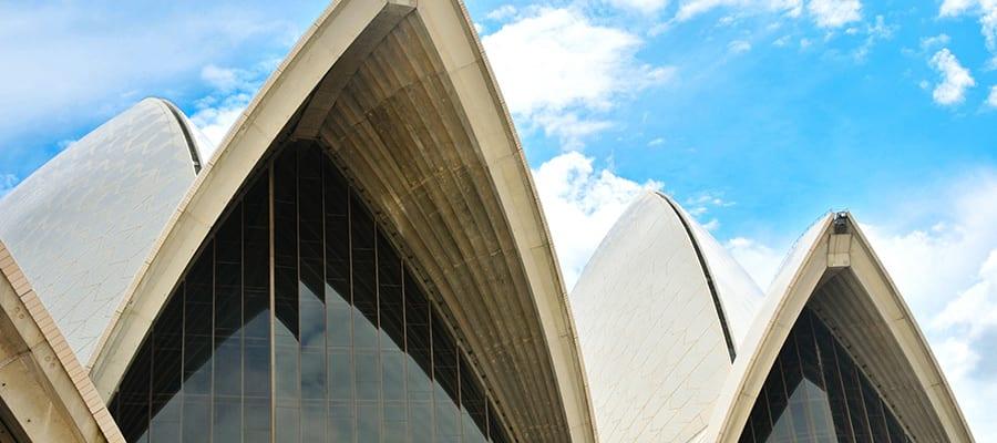 Teatro de ópera de Sídney en cruceros a Sídney