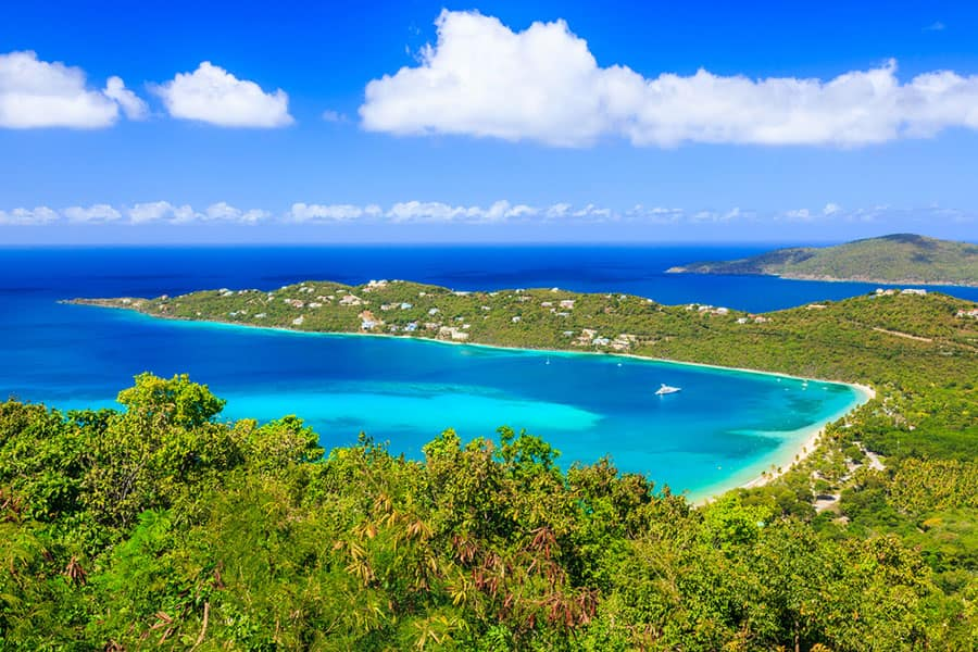 See Beautiful Magens Bay on a Caribbean Cruise with Norwegian