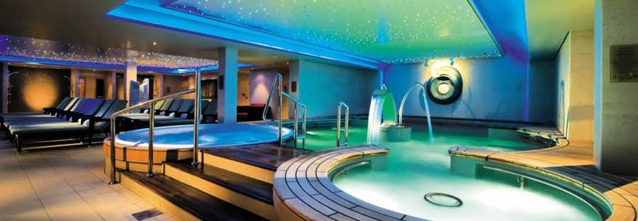 Detalles de la suite termal spa