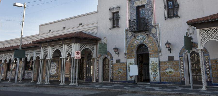 Arquitectura colombina en tu crucero a Tampa