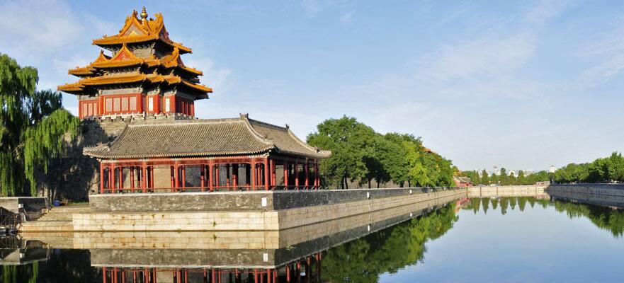 Contempla la famosa ciudad prohibida de Beijing