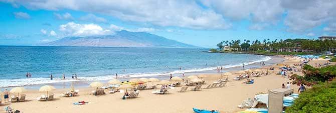 Playas hermosas de Maui
