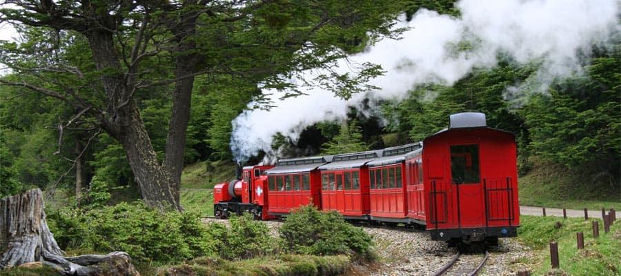 El Tren del Fin del Mundo en tu crucero a Ushuaia