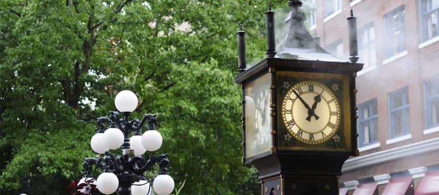 Reloj de vapor en Gastown