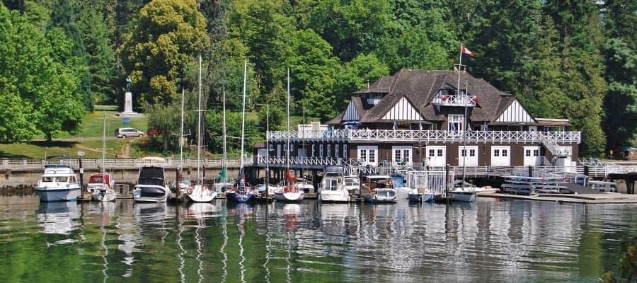 Stanley Park y paseo marítimo de Vancouver en tu crucero a Alaska