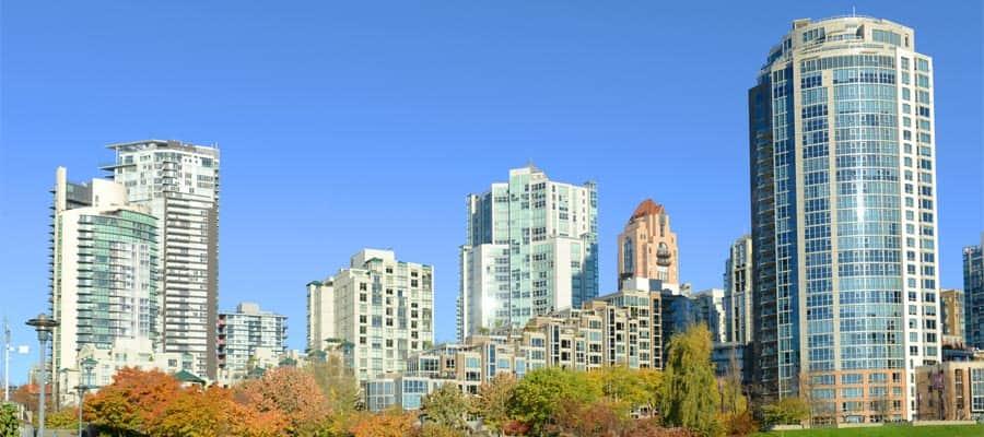 crucero a la ciudad de Vancouver