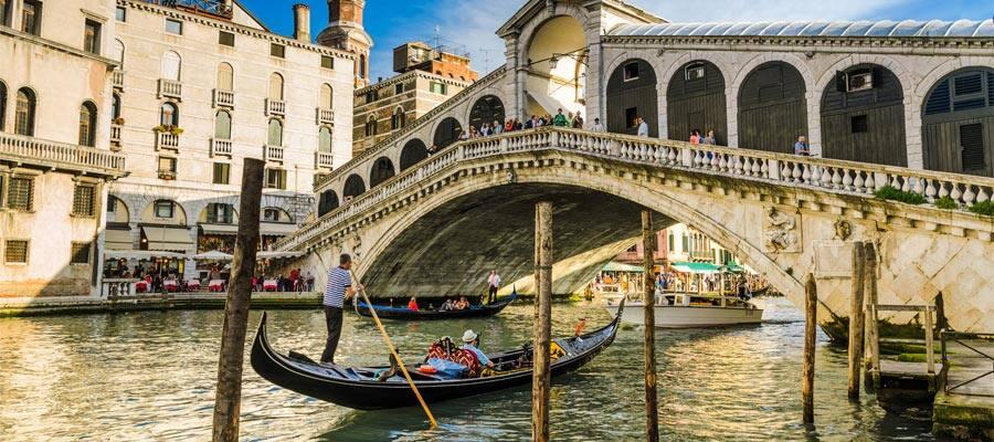 Canales de Venecia en tu crucero por Europa