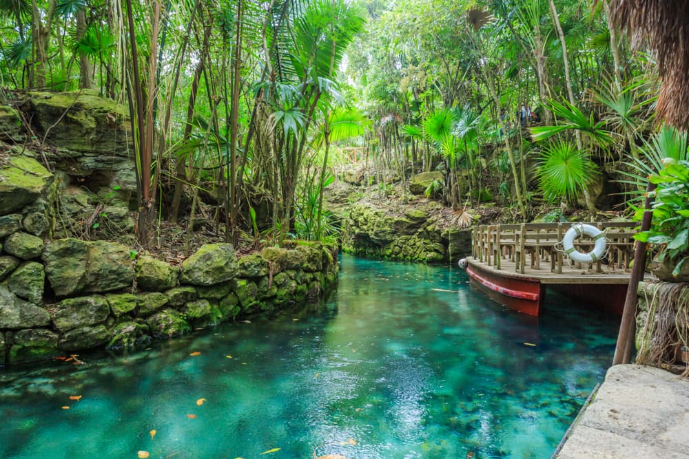 Xcaret Eco Park in Cozumel, Mexico