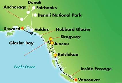Explora Denali/Valdez, 14 días