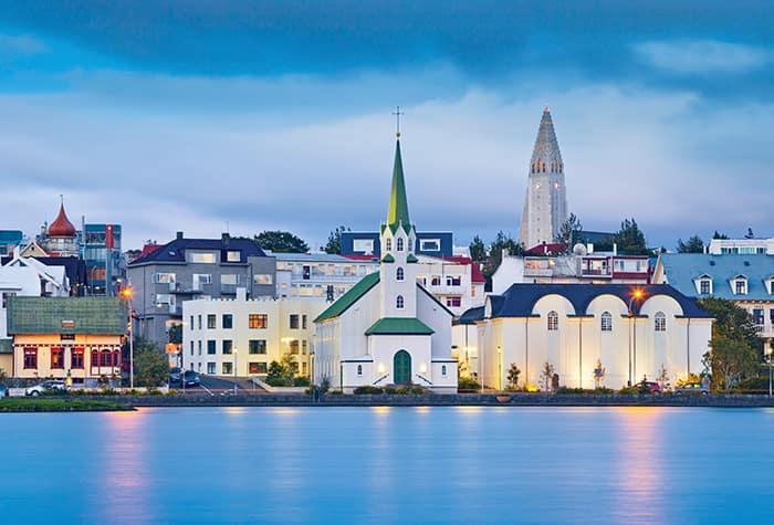 Cruceros a Reikiavik, Islandia