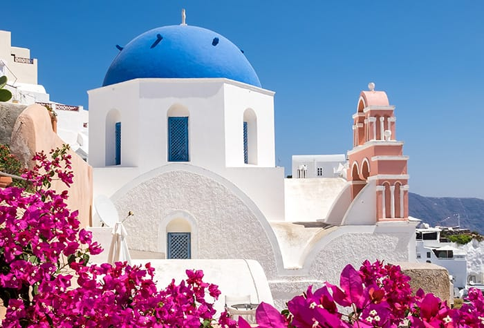 Cruises to Santorini, Greece