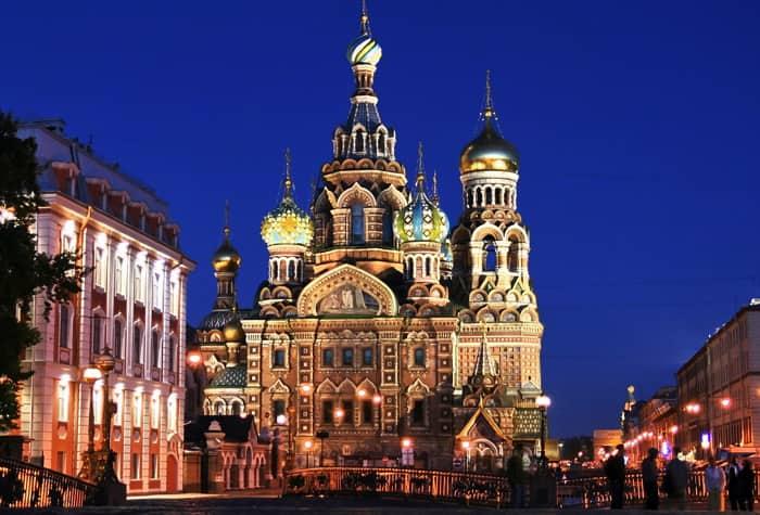 Cruceros aSan Petersburgo, Rusia