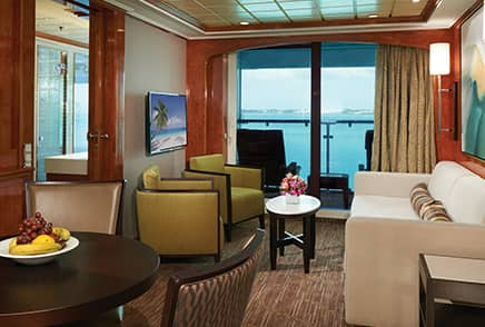 Suites a bordo del Norwegian Dawn