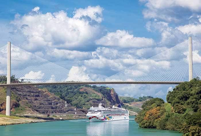 Crucero al Canal de Panamá con Norwegian Cruise Line