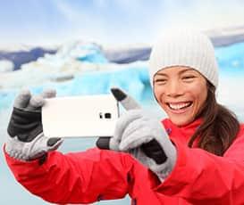 Toma fotos increíbles durante tu próximo crucero por Alaska.