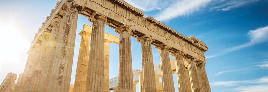 La Acrópolis, Atenas, Grecia