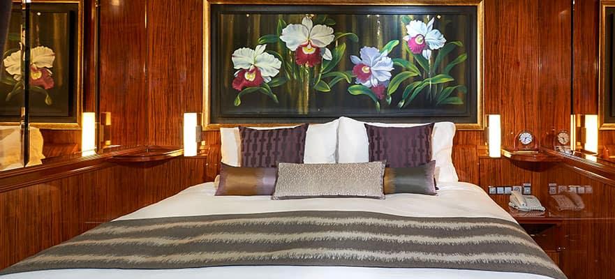 Plano de suite familiar de lujo con balcón, 2 habitaciones