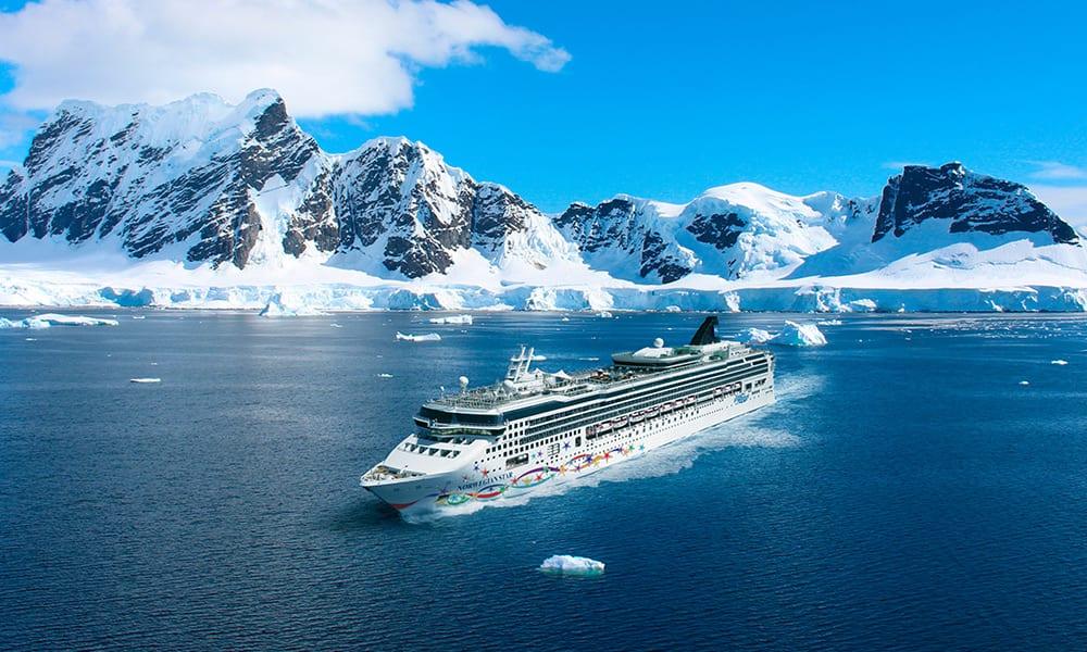 Cruceros a la Antártida con Norwegian Cruise Line