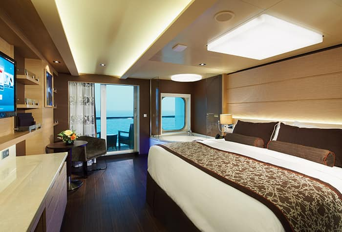 Las suites más grandes del mar