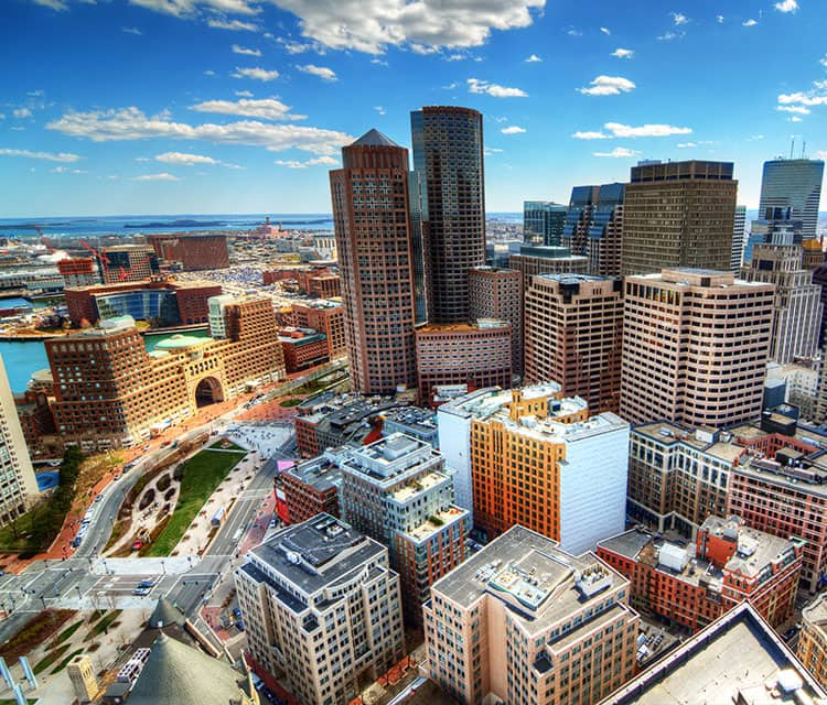 Cruceros desde Boston, Massachusetts