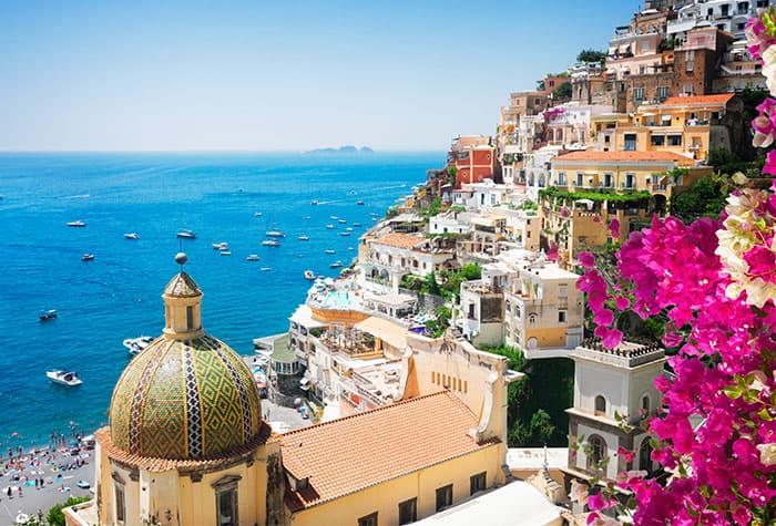 Atardeceres maravillosos en Italia