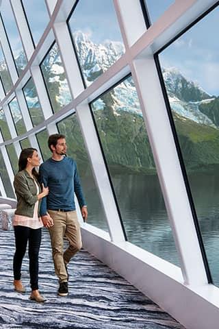 Conoce los magníficos glaciares en un crucero en Alaska