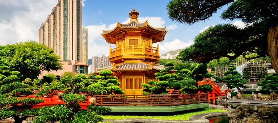 Jardín Nan Lian, Hong Kong