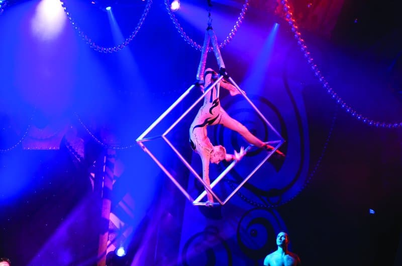 Le Cirque Bijou on Norwegian Jewel