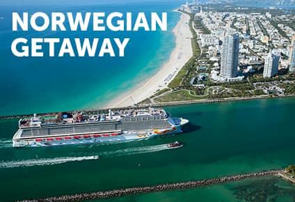 Cruceros por el Caribe en el Norwegian Getaway