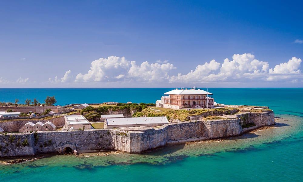Bermuda's Royal Naval Dockyard