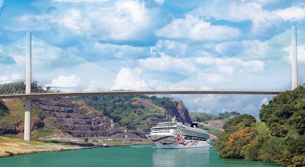 Cruceros en el Canal de Panamá en elNorwegian Sun
