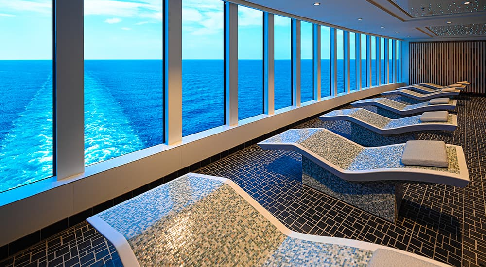Norwegian Encore Thermal Suite
