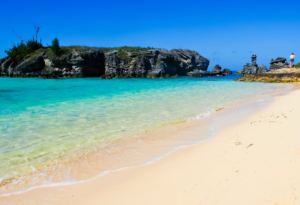 Snorkel in the Crystal Clear Waters of Tobacco Bay Beach in St. George, Bermuda