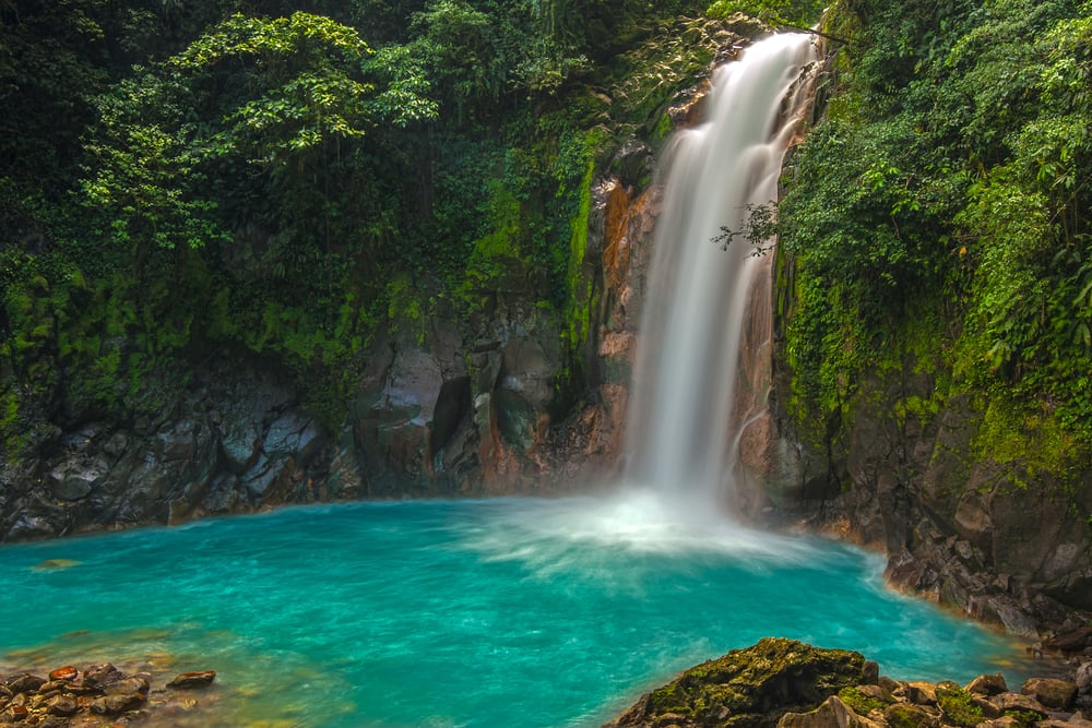 Climb a Waterfall in Costa Rica on a South America Cruise with Norwegian
