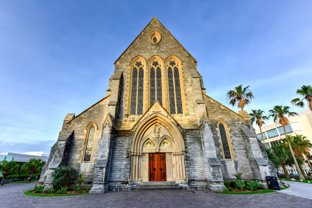 Visit the Cathedral of the Most Holy Trinity on a Bermuda Cruise