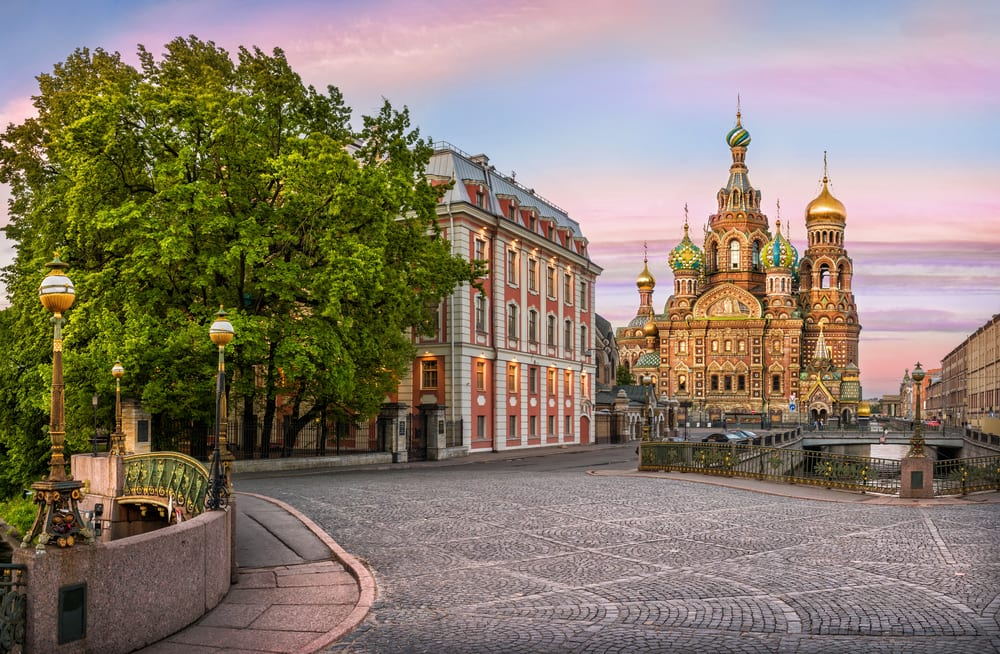 See the Church of the Savior on Spilled Blood in St. Petersburg, Russia on a Baltic Cruise with Norwegian