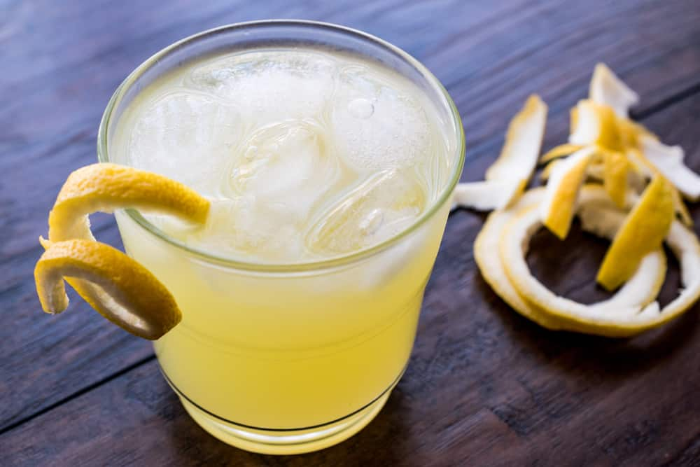 Yellow Bird Citrus Drink