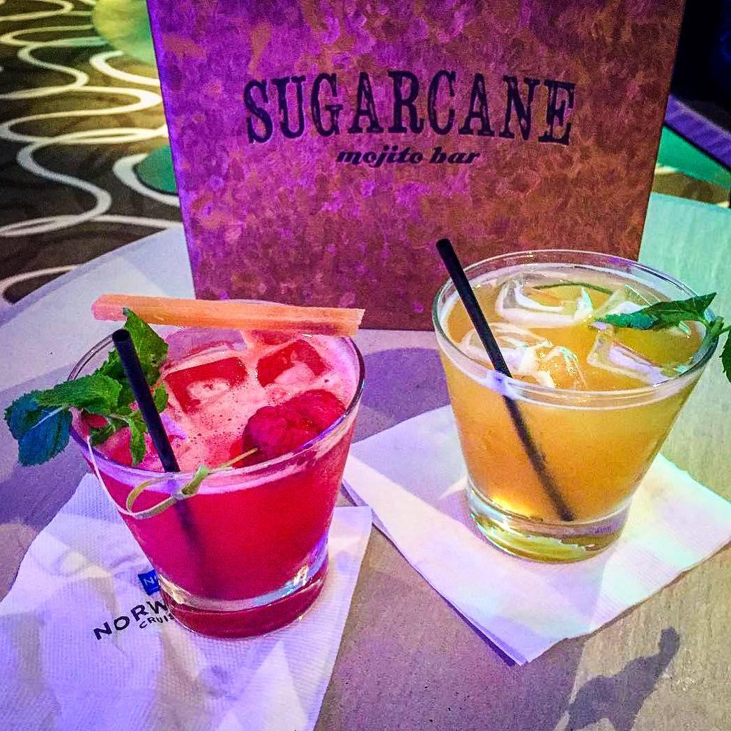Bar de mojitos Sugarcane